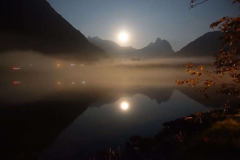 Fullmåne i Romsdal